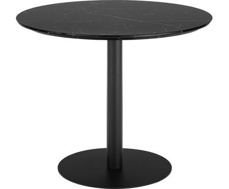 Table ronde à aspect marbre Karla