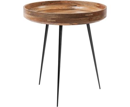 Design-Beistelltisch Bowl Table aus Mangoholz
