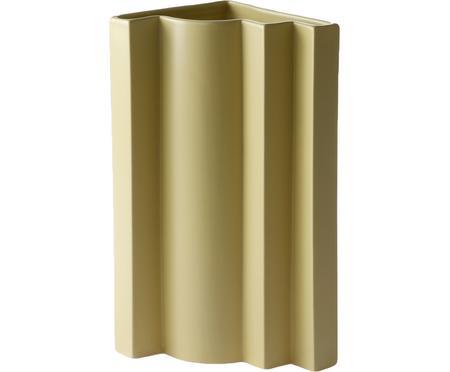 Große Vase Romina Gris aus Steingut