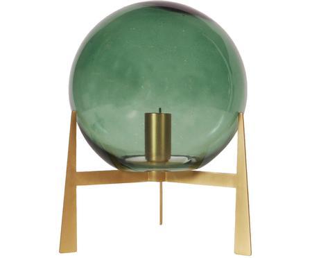 Skleněná stolní lampa Milla