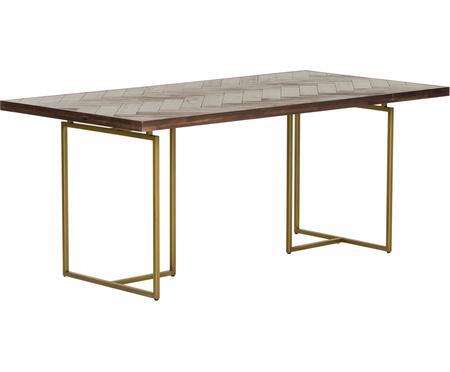 Tavolo con finitura in acacia Class
