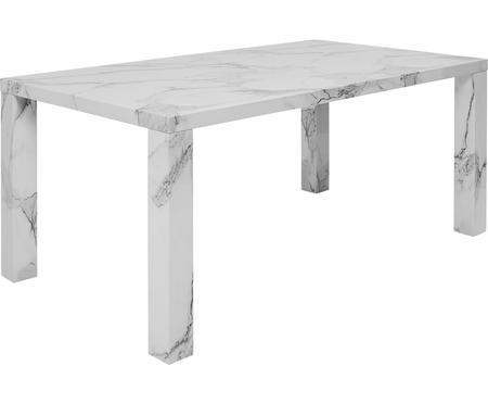 Jídelní stůl s mramorováním Carl