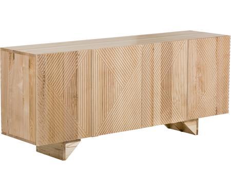 Credenza in legno massello di mango Louis
