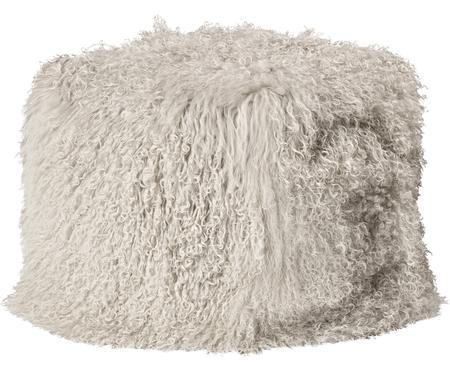 Zitzak van schapenvacht Cube