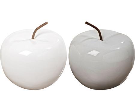 Pommes décoratives Alvaro, 2pièces