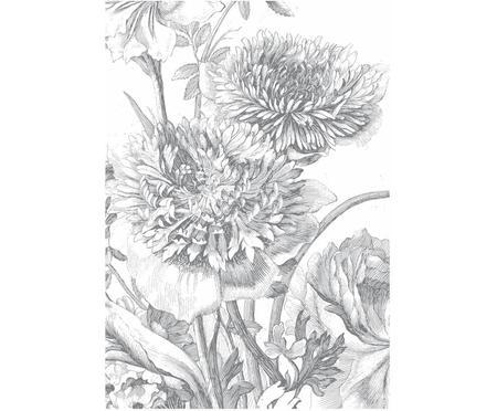Fototapeta Engraved Flowers