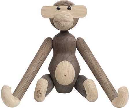 Oggetto decorativo di design Monkey, legno di quercia
