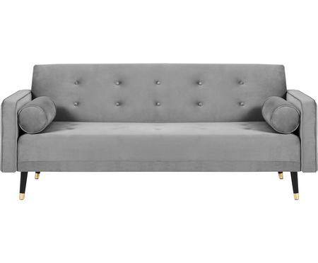 Sofa rozkładana z aksamitu Gia (3-osobowa)