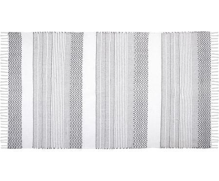 Tappeto in cotone con motivi grafici Iceland