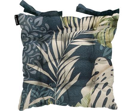 Sitzkissen Reva mit tropischem Print