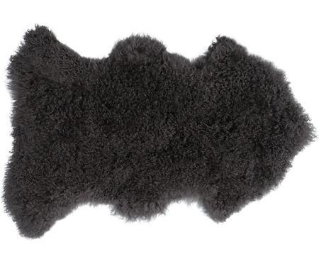 Peau d'agneau à longs poils bouclés Ella