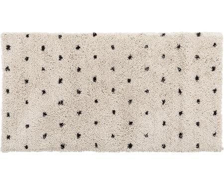 Flauschiger Hochflor-Teppich Ayana, gepunktet