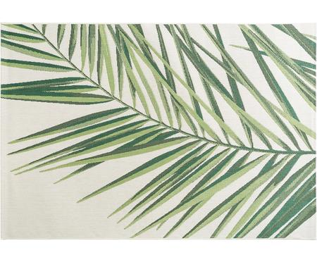 Tapis intérieur-extérieur motif palmier Capri Palm