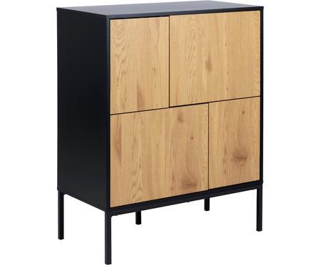 Credenza in legno e metallo Seaford