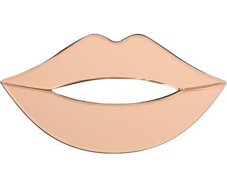 Dekoracja ścienna z barwionego szkła lustrzanego Lips