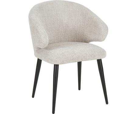 Chaise à accoudoirs, design moderne Celia