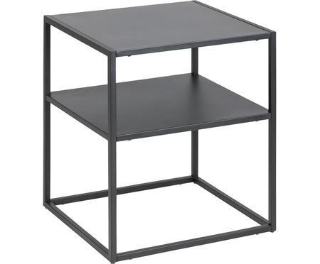 Tavolino in metallo nero Newton