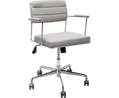Biurowe krzesło obrotowe ze sztucznej skóry Dottore