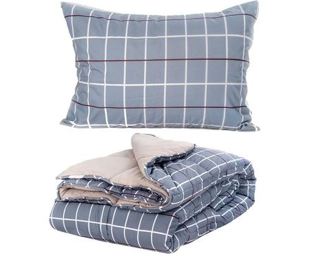 Set de colcha y almohada Cross