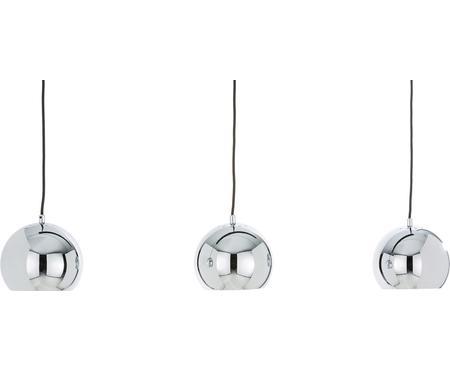 Kugel-Pendelleuchte Ball in Silber