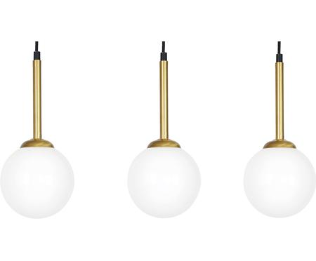 Lámpara de techo de vidrio opalino Parma