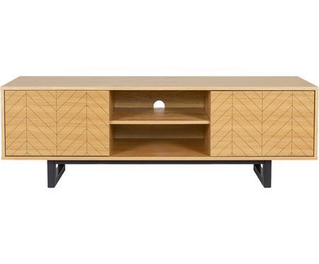 Design TV meubel Camden met eikenhoutfineer