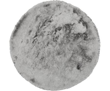 Kulatý koberec svysokým vlasem Jimmy