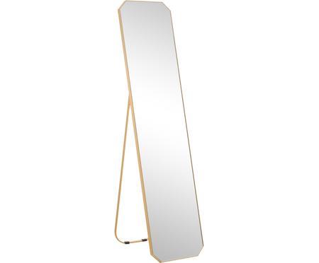 Specchio da terra con cornice dorata Bavado