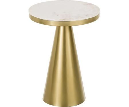 Table d'appoint ronde en marbre Zelda