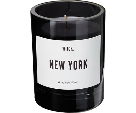 Świeca zapachowa New York (zielona cytryna, róża i drewno)