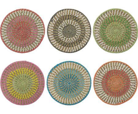 Set de manteles individuales redondos Mexico, 6pzas.