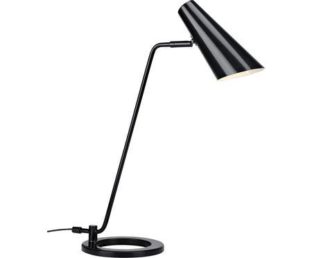 Schreibtischlampe Cal in Schwarz