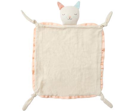 Doudou de algodón orgánico Cat