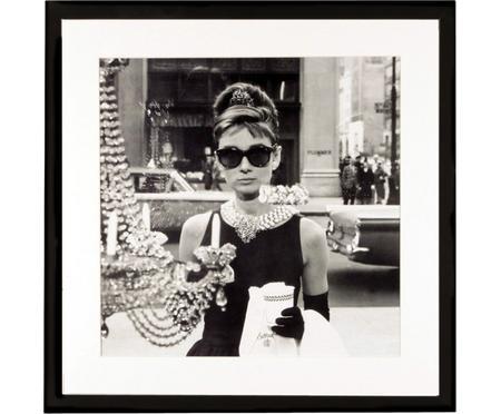 Zarámovaný digitální tisk Hepburn
