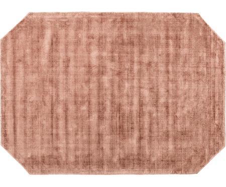 Handgewebter Viskoseteppich Jane Diamond