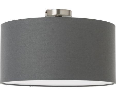 Plafondlamp Basixx van linnen