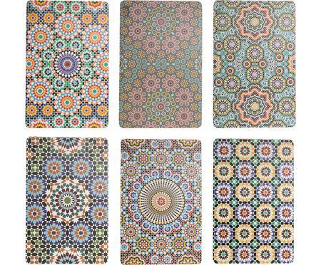 Kunststoff Tischsets Marrakech, 6er Set