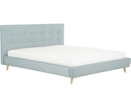 Gestoffeerd bed Moon