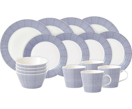 Geschirr-Set Pacific, 4 Personen (16-tlg.)
