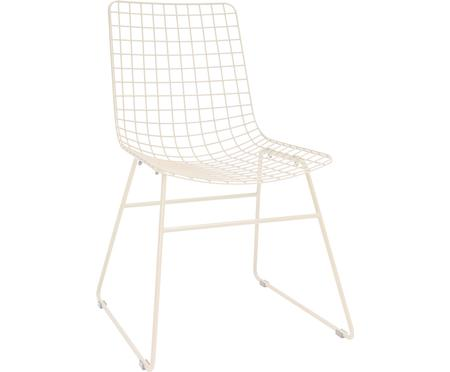 Design-Stuhl Wire aus Metall