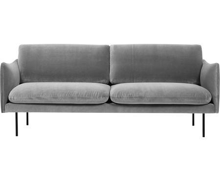 Sofa z aksamitu Moby (2-osobowa)