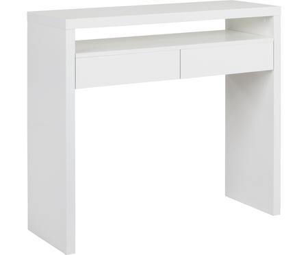 Smal bureau Teresa met uitschuifbare tafelblad