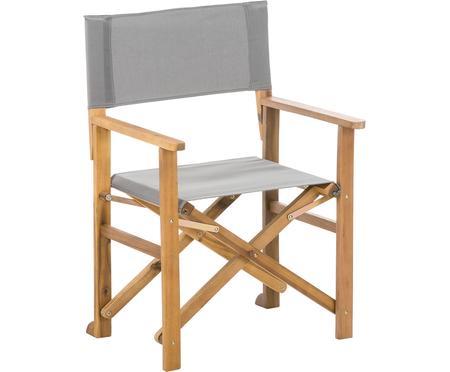 Klappbarer Regiestuhl Zoe mit Holzgestell