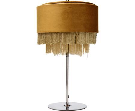 Sametová stolní lampa Tassel