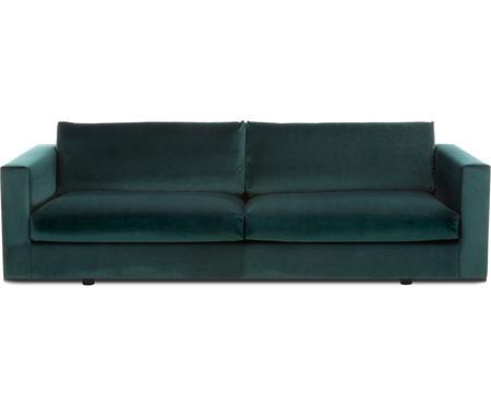 Samt-Sofa Balmira (3-Sitzer)