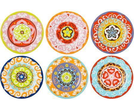 Set de platos postre Nador, 6pzas.