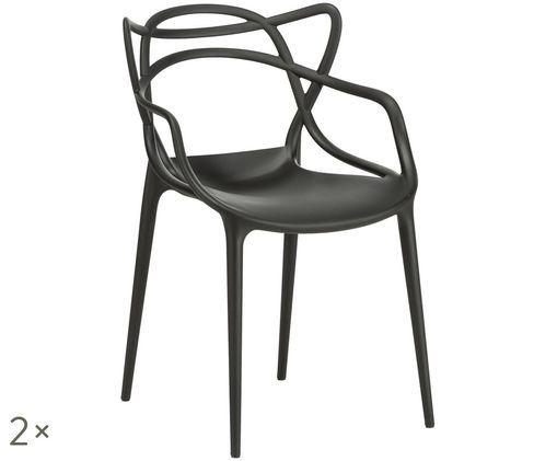 Design-Armlehnstühle Masters, 2 Stück