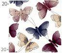 Papierové servítky Butterfly, 20 ks