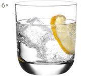 Kristallen whisky-/waterglazen Harmony, 6 stuks