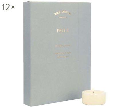 Bougies chauffe-plats parfumées Fells, 12 pièces